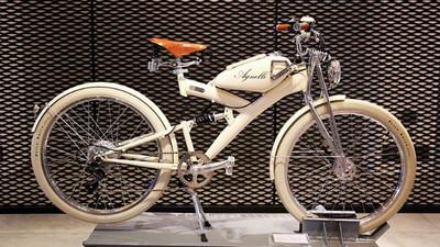 復古單車X電動車!古董店學徒打造手工電動單車