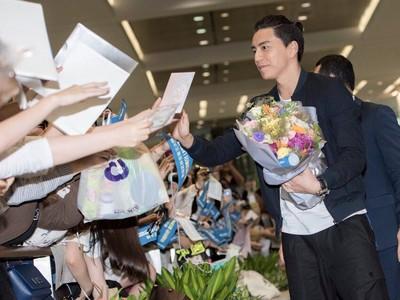 500迷妹瘋迎「徐太宇」歐巴!王大陸讓韓國機場癱瘓了