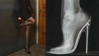 穿高跟鞋的痛男人不懂!那為何還穿...自殘?