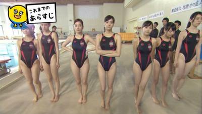 被這7個「緊身泳衣美女」同時告白!你的選擇是?