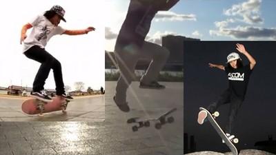 滑板像被施了咒…超強神技讓我無法相信他才13歲!