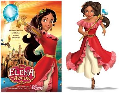 等了79年!迪士尼首位拉丁公主艾蓮娜暑假現身