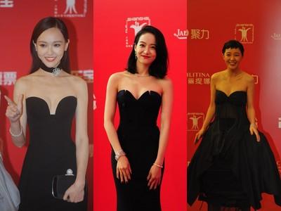 紅毯3女星有志一同蹦乳微撞衫 《寒戰2》顏值帥到懷孕