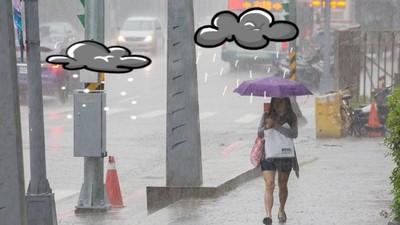 閃馬路水坑像跳芭蕾?下雨天通勤族的7大委屈~