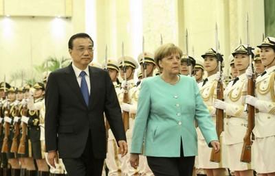 梅克爾和李克強主持中德政府磋商