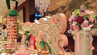 日本「愛莉絲午茶Buffet」 夢幻布置光拍照就能耗整天