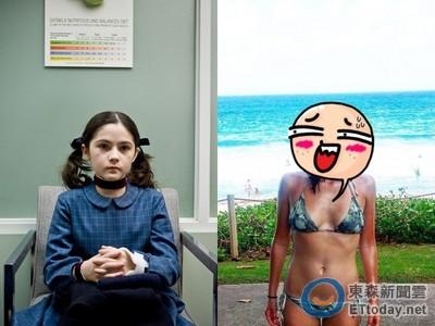 《孤兒怨》陰森養女7年後長這樣! 螞蟻腰+腹肌超逼人