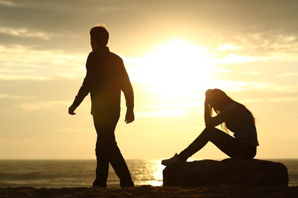 情侶,吵架、愛情、分手。(圖/達志/示意圖)