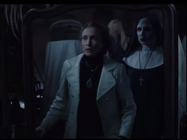 《厲陰宅2》惡靈修女。(圖/翻攝自網路)