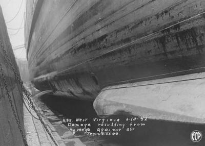 沈沒軍艦傳來砰砰聲以為鬧鬼,六個月後才知真相…