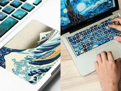 知性美UP!「名畫鍵盤貼紙」讓指尖流露濃郁藝術味