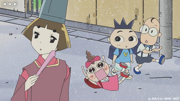 ▲5歲丸少爺動畫版曾變成17歲花美男。(圖/翻攝自日網NHK YouTube)
