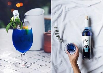 對抗紅海而生的「藍色」葡萄酒,喝起來絕對不像清潔劑