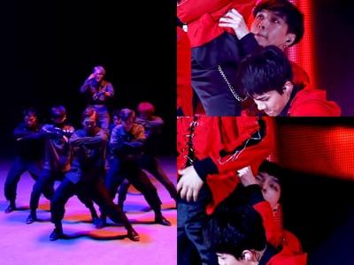 Kai舞台上霸氣登高的背後…有著兄弟咬牙撐守好揪❤