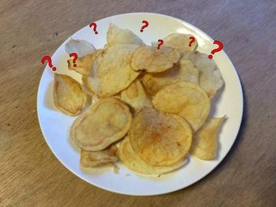 超逼真木雕「洋芋片」!賭你猜不出哪片是假的