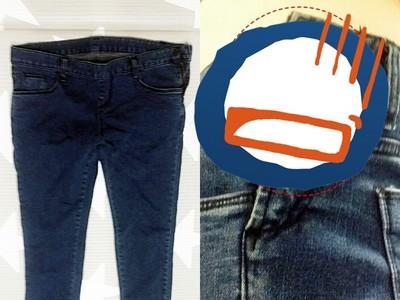 看似「假拉鍊」牛仔褲,穿上後…根本在詐欺我的心=皿=