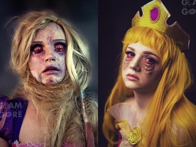 睡美人沒睡飽、長髮公主被絞死 她以破壞名人形象為樂