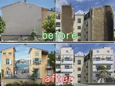 牆面上的「都更」,用壁畫讓老社區翻新!