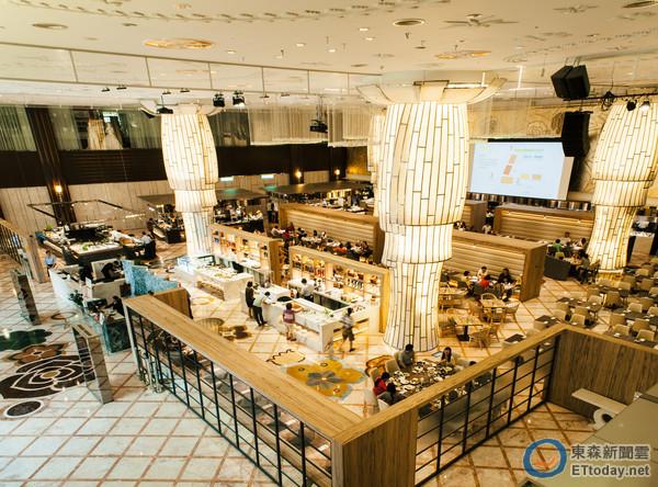 北市最大自助餐廳豐FOOD開幕 7/13-17兩人行一人免費
