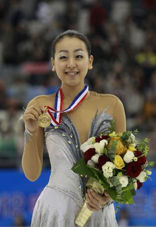 日本著名滑冰女選手淺田真央。(圖/達志影像/美聯社)