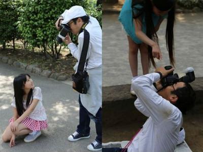 拍小模遜掉!日本大叔瘋組「國中生攝影會」補元氣