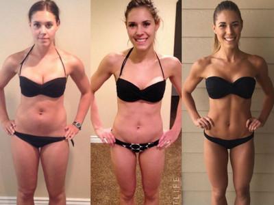 體重從65kg→63kg,可她從泡芙女變大正妹!