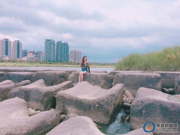 新竹也有岩石美景!療癒豆腐岩怎麼拍都超特別