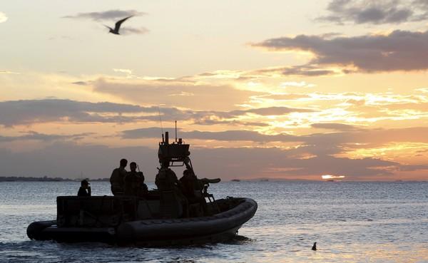 菲律賓海軍巡邏。(圖/CFP)
