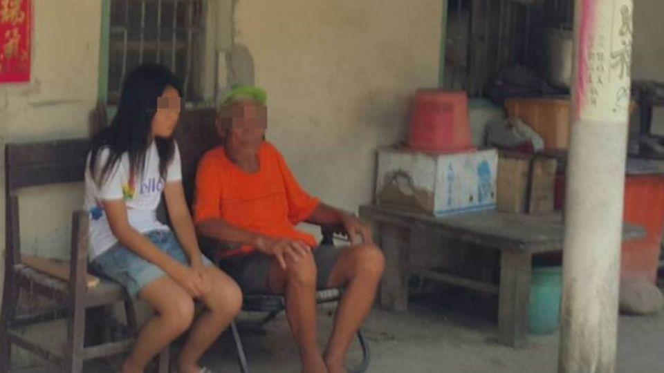 國一少女「無母又喪父」 靠82歲阿公7千津貼住磚房度日
