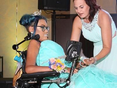 輪椅上堅持14年,罕病少女安樂死前選擇再跳最後一支舞