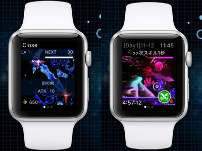 Apple Watch也能玩RPG手遊?螢幕超小玩起來好自虐阿~