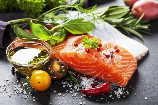 肉,鮭魚,食物,魚(圖/達志/示意圖)