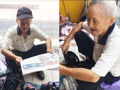 82歲還要賣包養家..有人想幫忙多買 布包阿公:別浪費