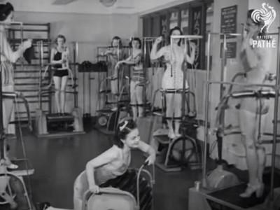 1940年代「塑身機」長這樣!這是科學怪人實驗室吧