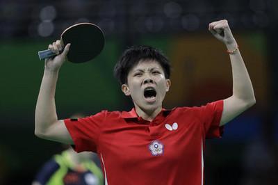 中華桌球女團取得奧運資格