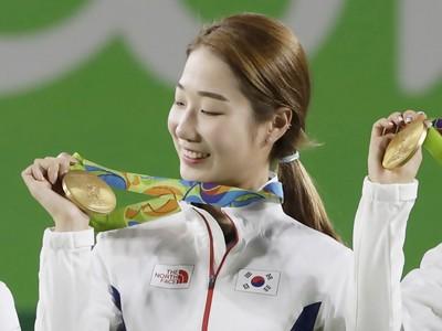 南韓「高顏值射箭女選手」 網友驚:整團都挑過嗎?