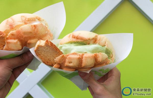 台南鄉親們 世界第二好吃的現烤冰淇淋菠蘿麵包要來了