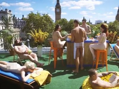 脫!「全裸天體陽台」啟用 讓陽光親吻每吋肌膚!