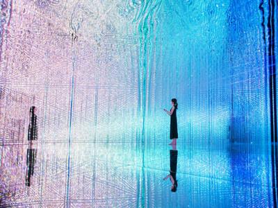 牛郎~織女來找你啦!日本超美「銀河系」互動展