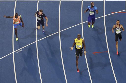博爾特摘金不滿意 「我還想再跑快一點」