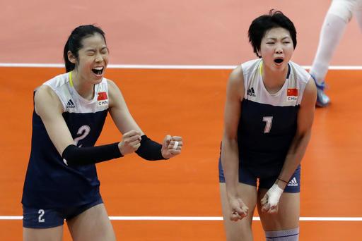 中國女排成功復仇荷蘭 21日與塞爾維亞爭金