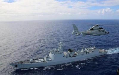 中共神盾艦繞經英吉利海峽!英艦跟監