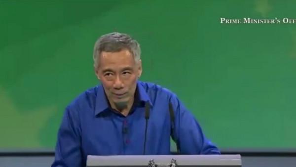 快訊/新加坡總理李顯龍國慶演說...突表情有異抽搐送醫