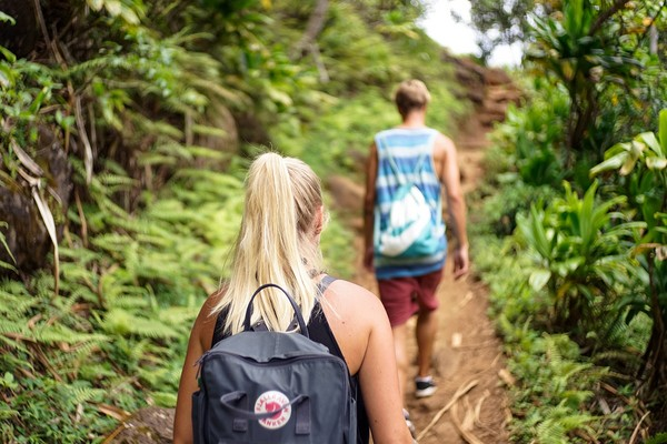 散步,步行,登山。(圖/取自librestock網站)
