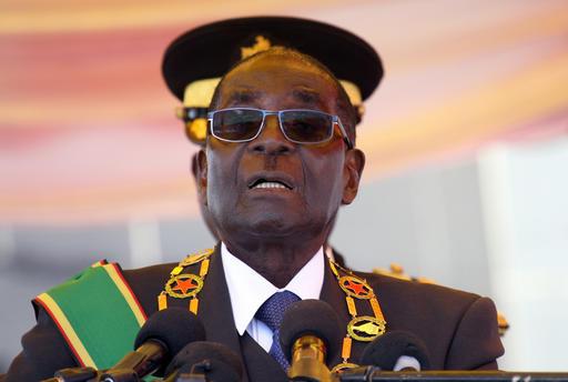 辛巴威總統穆加比(Robert Mugabe)。(圖/達志影像/美聯社)