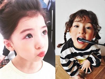 萌臉+勾魂眼!爆紅南韓混血蘿莉 網友:願意等她10年