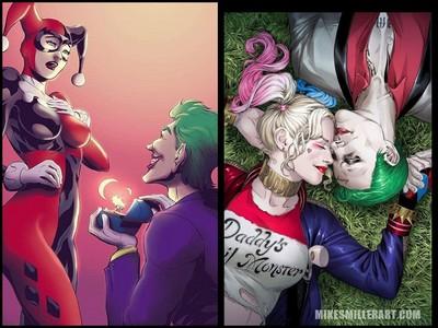 「小丑女」終於得到幸福!插畫家筆下的浪漫結局