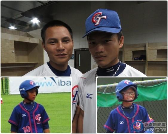 ▲萬昭清(左)與邱達昱(右)6年後再一起當U18國家隊隊友。(圖/記者楊舒帆攝)