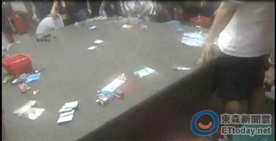 南市警三分局查獲職業性大賭場