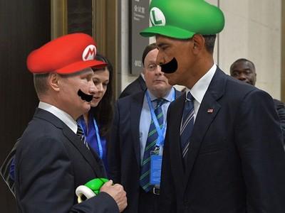G20歐巴馬vs.普丁嚴肅互瞪,然後..果然被P圖了